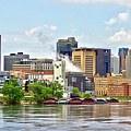 Saint Paul From The Mississippi by Brian Kenney