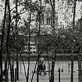 Saint Pauls And Thames by John Meader