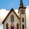 Saint Paul's Episcopal Church Verginia City Nevada by TL Mair