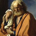 Saint Peter Penitent by Guercino
