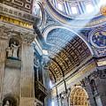 Saint Peter's Basilica by Gary Fossaceca