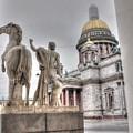Saint-petersburg Russia by Yury Bashkin