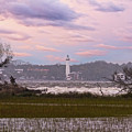 Saint Simon Island Lighthouse by Bill And Deb Hayes