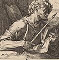 Saint Thomas by Hendrik Goltzius