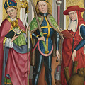 Saints Ambrose Exuperius And Jerome by PixBreak Art