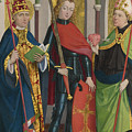 Saints Gregory Maurice And Augustine by PixBreak Art