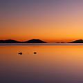 Salar De Uyuni Sunset by James Brunker