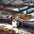 Salcombe Boatyard by Graham Berry