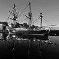 Salem Friendship Reflection Black And White by Toby McGuire