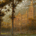 Salisbury Cathedral by Albert Goodwin