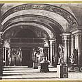 Salle Des Cariatides, Au Mus?e Du Louvre by Charles Marville