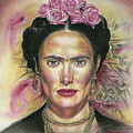 Salma Hayek As Frida Kahlo by Daniel Ayala