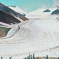 Salmon Glacier, Frozen Motion by Stanza Widen