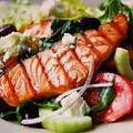 Salmon Salad by Lord Frederick Lyle Morris - Disabled Veteran