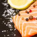 Salmon Steak And Spices by Anastasy Yarmolovich