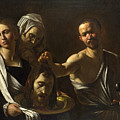 Salome Receives The Head Of Saint John The Baptist by Caravaggio