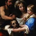 Salome With The Head Of Saint John The Baptist by Onorio Marinari