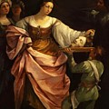 Salome With The Head Of St John Baptist 1640 by Reni Guido