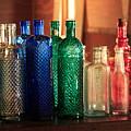 Saloon Bottles by Toni Hopper