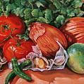 Salsa by Outre Art  Natalie Eisen