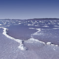 Salt Formations Great Salt Lake Ut Usa by David Sidwell