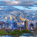 Salt Lake City Utah Usa by Utah Images