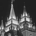 Salt Lake Temple Night by Troy Montemayor