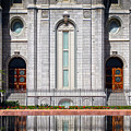 Salt Lake Temple Reflections by Brent Borup