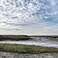 Salt Marsh And Creek, Brancaster by John Edwards