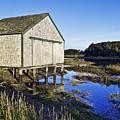 Salt Pond Boathouse  by John Greim