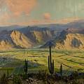 Salt River Irrigation Project - Arizona by Mountain Dreams