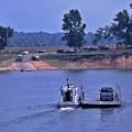 Saltilla Tennessee River Ferry - 2 by Randy Muir