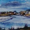 Saltwater Village Riverside by Angelina Whittaker Cook