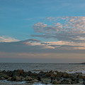 Salty Air Over Breach Inlet by Dale Powell