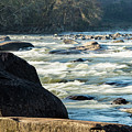 Saluda River Rapids - 1 by Charles Hite