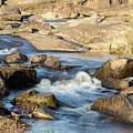 Saluda River Rapids - 4 by Charles Hite