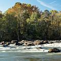 Saluda River Rapids - 3 by Charles Hite