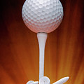 Salute To Golf by Tom Mc Nemar