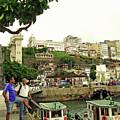 Salvador's Old Port At Noon by Idan Badishi