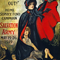 Salvation Army Poster, 1919 by Granger