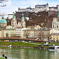 Salzburg City And Fortress  by Marc Henderson