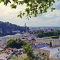 Salzburg City View Four by Bob Phillips