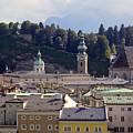 Salzburg City View Three by Bob Phillips