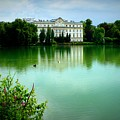 Salzburg Home With Lake by Carol Groenen
