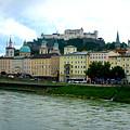 Salzburg Over The Danube by Carol Groenen