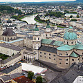 Salzburg Panoramic by Adam Romanowicz