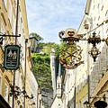 Salzburg Shopping by Brenda Kean