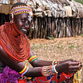 Samburu Beauty by Michele Burgess