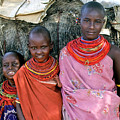 Samburu Sisters by Michele Burgess