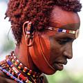 Samburu Warrior by Michele Burgess